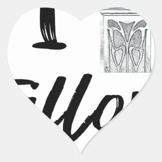Pegatina En Forma De Corazón I (reloj) Fillory