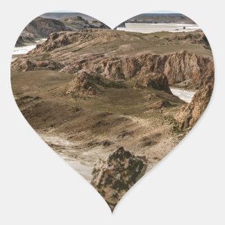 Pegatina En Forma De Corazón Miradores de Darwin, Santa Cruz la Argentina