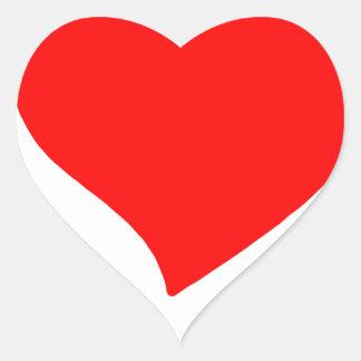 Pegatina En Forma De Corazón paz love5