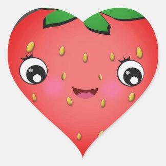 Pegatina En Forma De Corazón Pegatinas de la forma del corazón de Kawaii de la