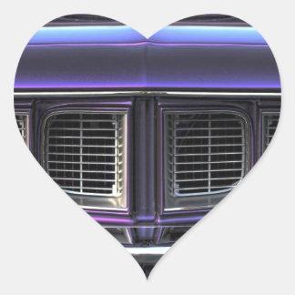 Pegatina En Forma De Corazón Plymouth 1971 'Cuda