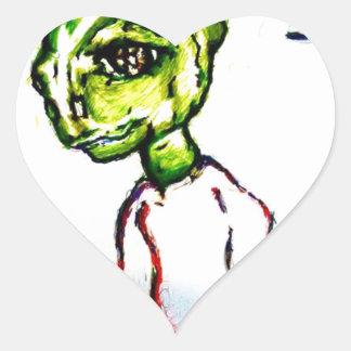 Pegatina En Forma De Corazón Quiero ser amado