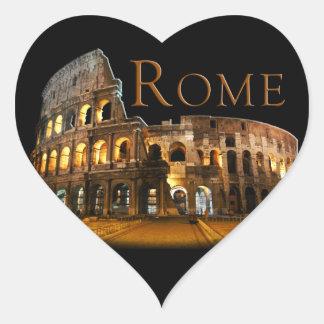 Pegatina En Forma De Corazón Roma