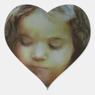 Pegatina En Forma De Corazón Si usted ama something.JPG