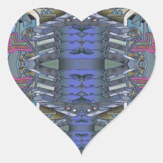 Pegatina En Forma De Corazón SkycityFlatsONE