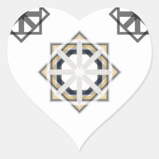 Pegatina En Forma De Corazón spirograph-multiple-shapes3-35