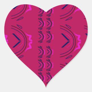 Pegatina En Forma De Corazón Textura de lujo de Oriente del vino