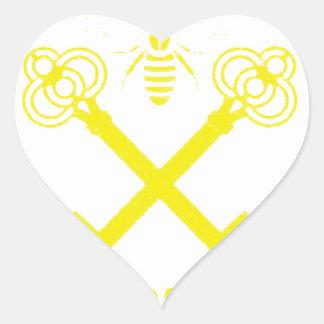 Pegatina En Forma De Corazón Welters
