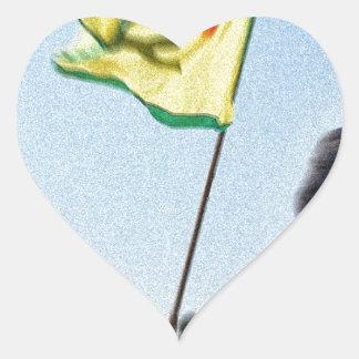 Pegatina En Forma De Corazón YPG - Combatientes kurdos de la libertad de Kobani