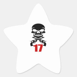 Pegatina En Forma De Estrella 17 diseños del cumpleaños