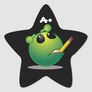 Pegatina En Forma De Estrella A+ Pegatinas extranjeros de la estrella