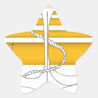 Pegatina En Forma De Estrella almirante del oro, fernandes tony