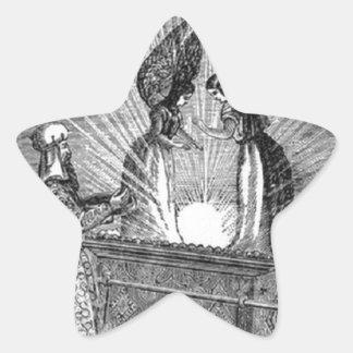 Pegatina En Forma De Estrella Ángeles sobre la Arca de la Alianza