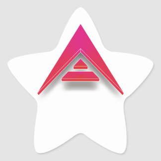 Pegatina En Forma De Estrella ARCA en 3D