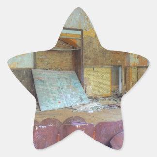 Pegatina En Forma De Estrella Auditorio 01,0, lugares perdidos, Beelitz
