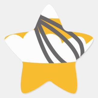Pegatina En Forma De Estrella Bata