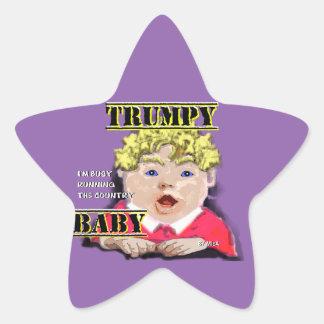 Pegatina En Forma De Estrella Bebé de Trumpy - pegatinas - protagonice 1 ½ en