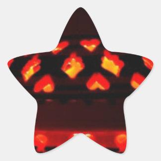 Pegatina En Forma De Estrella bougeoirs-tajine