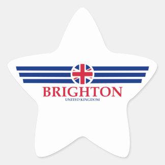 Pegatina En Forma De Estrella Brighton
