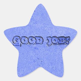 Pegatina En Forma De Estrella Buen trabajo
