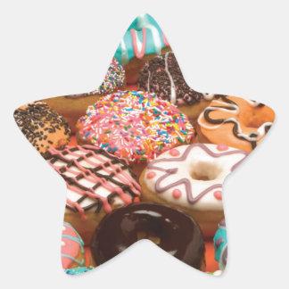 Pegatina En Forma De Estrella buñuelos