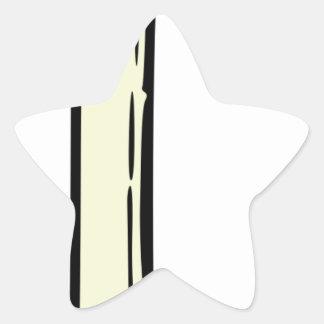 Pegatina En Forma De Estrella Cebolla de la primavera
