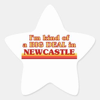 Pegatina En Forma De Estrella Clase de I´m de una gran cosa en Newcastle