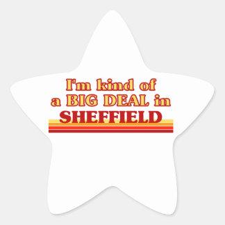Pegatina En Forma De Estrella Clase de I´m de una gran cosa en Sheffield