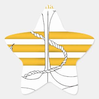 Pegatina En Forma De Estrella comandante del oro, fernandes tony
