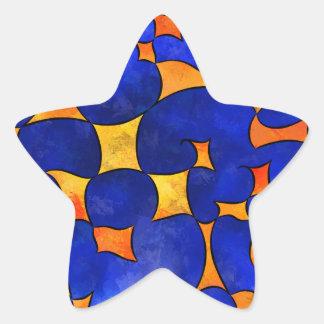 Pegatina En Forma De Estrella Cubos de fusión de Blesmios V1-