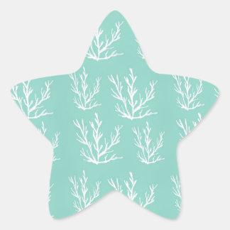 Pegatina En Forma De Estrella debajo del mar