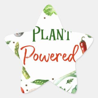 Pegatina En Forma De Estrella Diseños Planta-Accionados