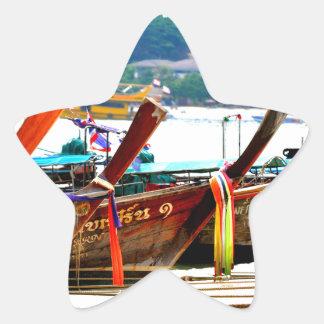 Pegatina En Forma De Estrella Edición de la postal de Phiphiisland
