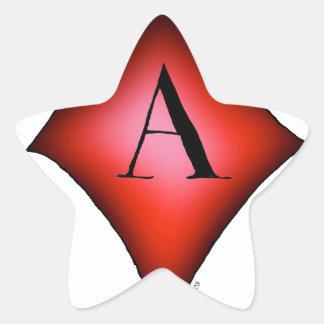 Pegatina En Forma De Estrella El as de diamantes de Tony Fernandes