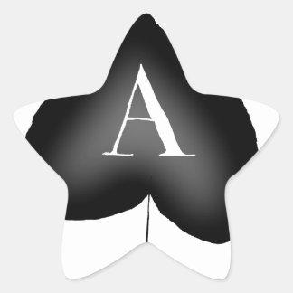 Pegatina En Forma De Estrella El as de espadas de Tony Fernandes