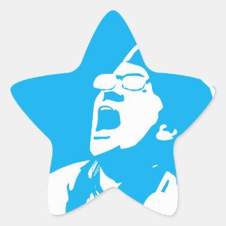 Pegatina En Forma De Estrella El liberal rasga minas de sal