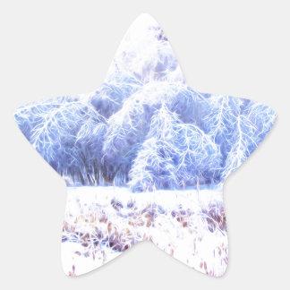 Pegatina En Forma De Estrella El peso de Hielo-lumi