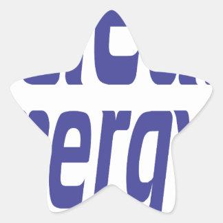 Pegatina En Forma De Estrella Energía limpia