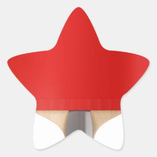 Pegatina En Forma De Estrella Estafa de tenis de mesa