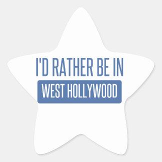 Pegatina En Forma De Estrella Estaría bastante en Hollywood del oeste