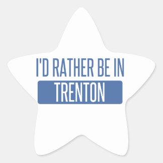 Pegatina En Forma De Estrella Estaría bastante en Trenton