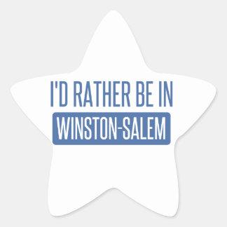 Pegatina En Forma De Estrella Estaría bastante en Winston-Salem