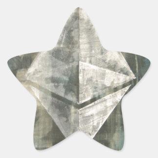 Pegatina En Forma De Estrella Ethereum