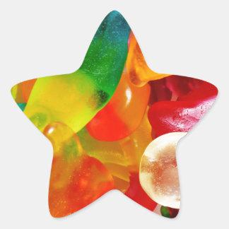 Pegatina En Forma De Estrella goma de la jalea