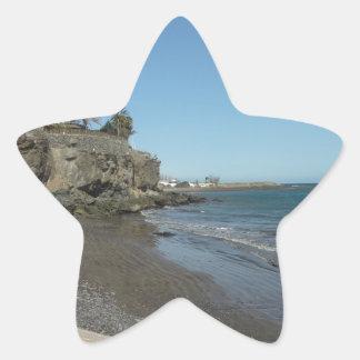 Pegatina En Forma De Estrella Gran Canaria