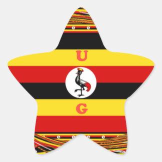 Pegatina En Forma De Estrella Hakuna asombroso hermoso Matata Uganda precioso