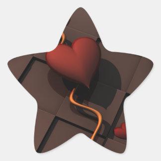 Pegatina En Forma De Estrella hearth