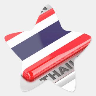 Pegatina En Forma De Estrella Hecho en Tailandia
