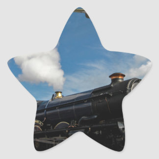 Pegatina En Forma De Estrella Huracanes y tren del vapor