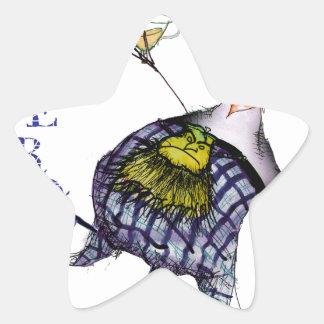 Pegatina En Forma De Estrella la danza de los haggis